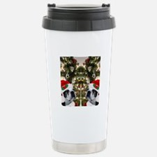 Boston Terrier flip flo Travel Mug