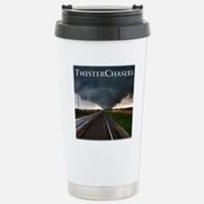 TwisterChasers Tornado Stainless Steel Travel Mug