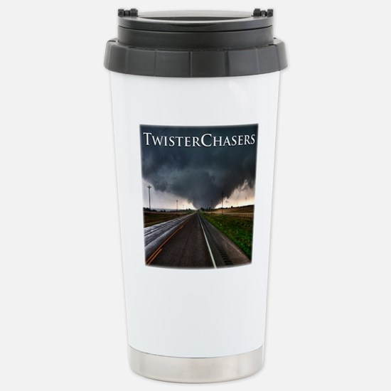 TwisterChasers Tornado Stainless Steel Travel Mug