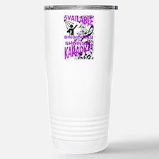 KARAOKE! AVAILABLE FOR  Stainless Steel Travel Mug