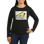 Indiana Cicada Women's Long Sleeve Dark T-Shirt