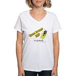 Indiana Cicada Women's V-Neck T-Shirt