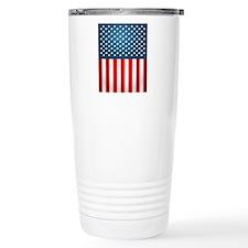 US Flag Travel Mug