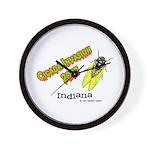 Indiana Cicada Wall Clock