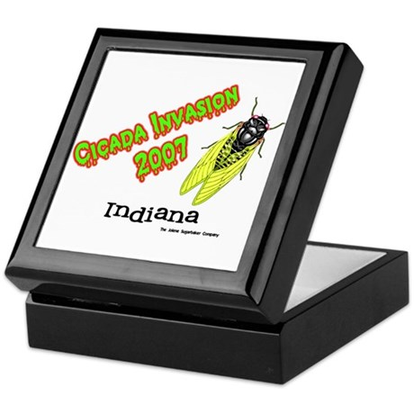 Indiana Cicada Keepsake Box