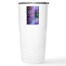 Disco Mirrors in Purple Travel Mug