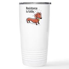 Funny Resistance futile Travel Mug