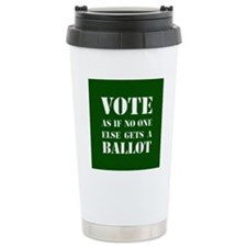VOTEasifnooneelsegetsaB Travel Mug