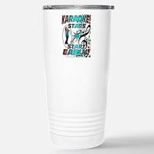 KARAOKE STARS START EAR Stainless Steel Travel Mug