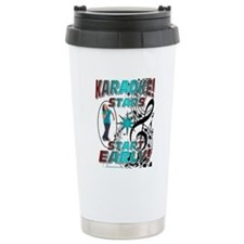 KARAOKE STARS START EAR Travel Mug