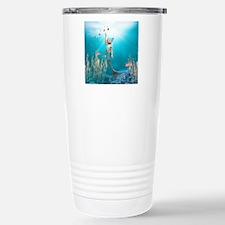 lm1_snowflake_ornament_ Travel Mug