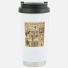 Vintage Rodeo Round-Up Stainless Steel Travel Mug