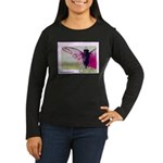Cicada S Couture Women's Long Sleeve Dark T-Shirt