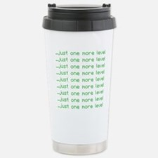 One more level Travel Mug