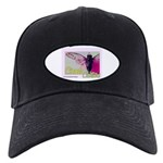 Cicada S Couture Black Cap