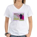 Cicada S Couture Women's V-Neck T-Shirt