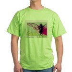 Cicada S Couture Green T-Shirt