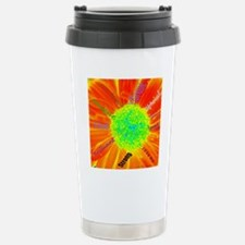 Affirmations Flower Travel Mug