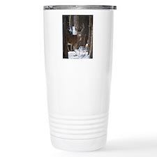 Trophy Whitetail D1316- Travel Coffee Mug