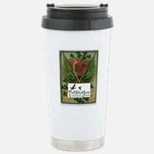 Card logo 2 Stainless Steel Travel Mug