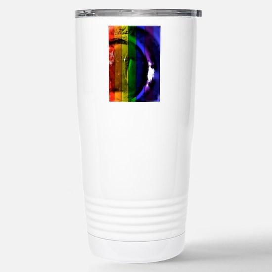 Rainbow Panel Stainless Steel Travel Mug