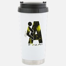 FNA_black_DistressedYel Travel Mug