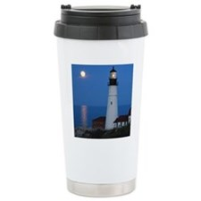 Super Moons Lighthouse  Travel Coffee Mug