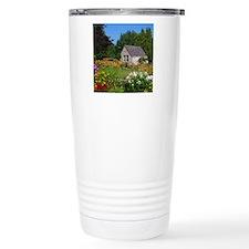 Country Garden Cottage Travel Mug