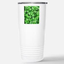 Marijuana Stainless Steel Travel Mug