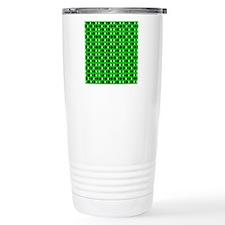 Green  Black Spirit Des Travel Mug