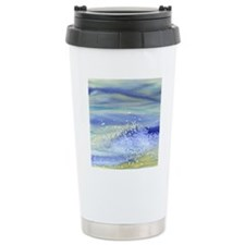 Sea Spray Shower Curtai Travel Mug