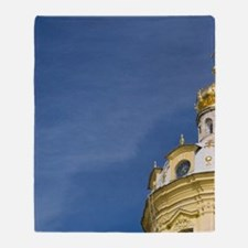 Bell Tower. SS Peter & Paul Cathedra Throw Blanket