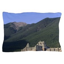 The Banff Springs Hotel in Banff, Albe Pillow Case