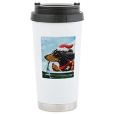 Dachshund Takes the Whe Travel Mug