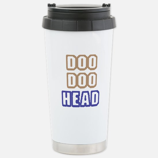 DOO DOO HEAD Stainless Steel Travel Mug