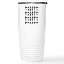Hockey Player Silhouett Travel Mug