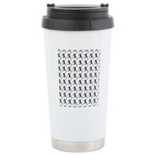Figure Skating Silhouet Travel Mug