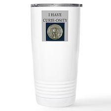Cute Marie curie Travel Mug