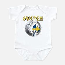 Sweden Football Infant Bodysuit