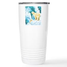 Mama and Cub Polar Bear Travel Mug