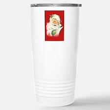 Santa Vintage Travel Mug