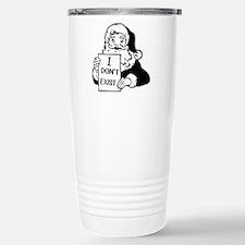 Santa doesn`t exist Travel Mug