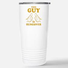 This Guy is Hungover Travel Mug