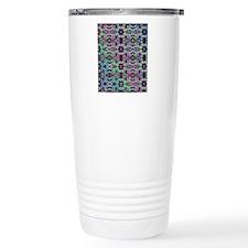Rainbow Fractal Art Pat Travel Mug