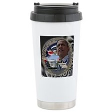 Obama Re-elected Travel Mug