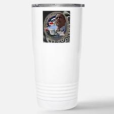 Obama Re-elected Travel Mug