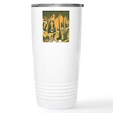 Hawaiian Ukelele Girls Travel Coffee Mug