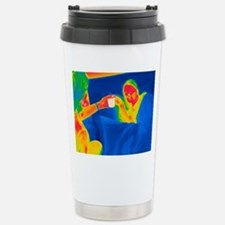 Hot drink, thermogram Stainless Steel Travel Mug