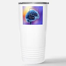 Human brain Travel Mug