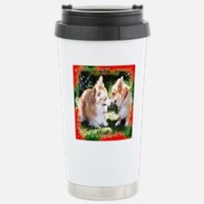 Holiday Stainless Steel Travel Mug